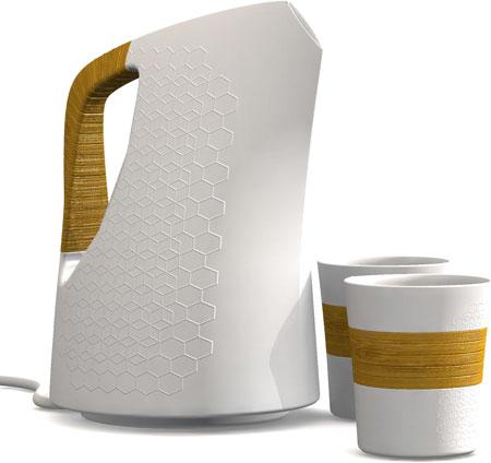 Cordless Ceramic Kettle