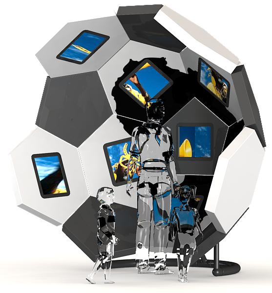 GEO modular kiosk (Concept)