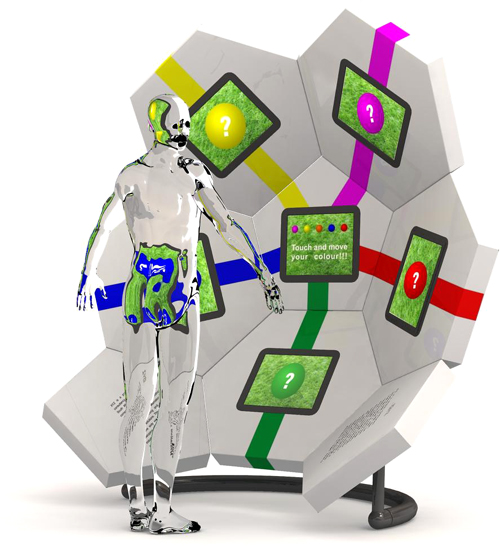 GEO modular display