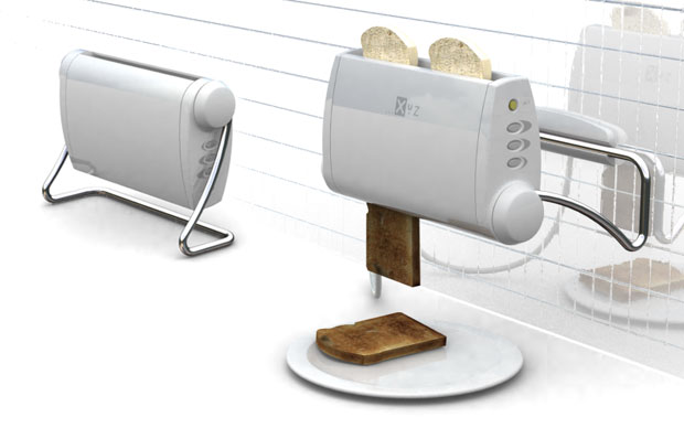 Wall Mounted Toaster