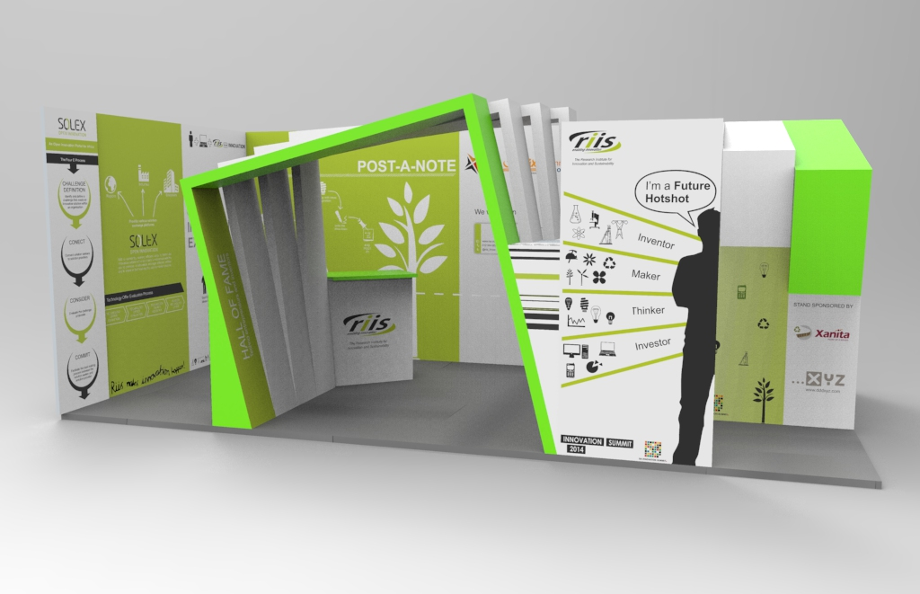 Model for render - Exhibition stand.19